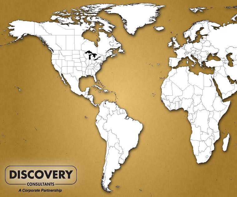Discovery Consultant projects and experience around the World