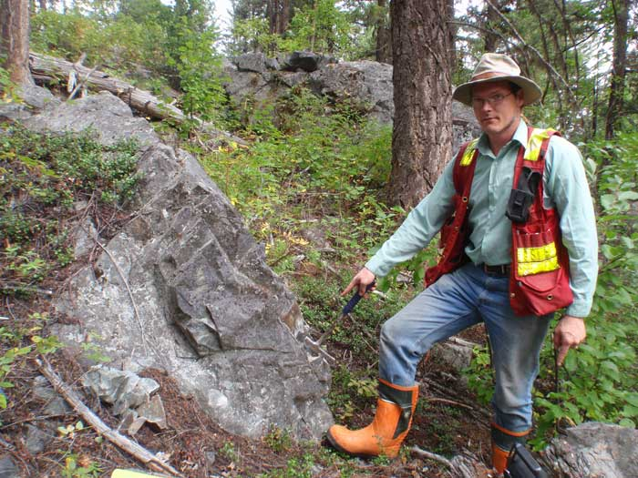 Exploring for porphyry copper mineralization in British Columbia